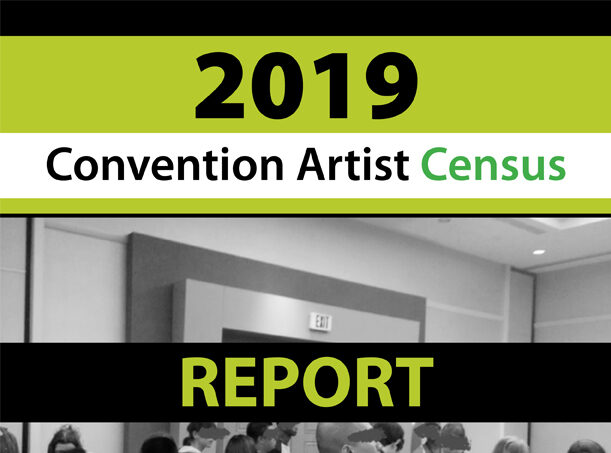 2019 Convention Artist Census