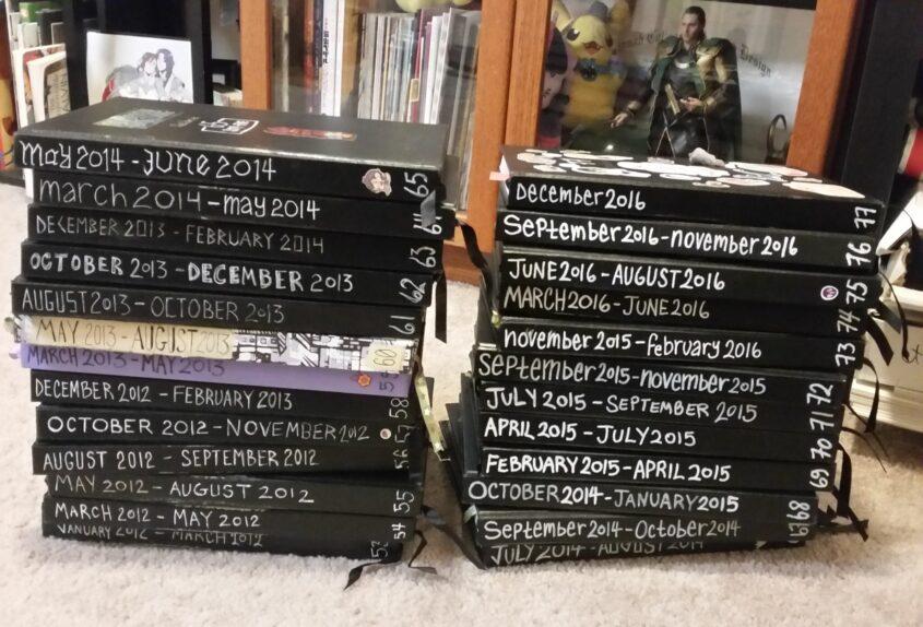 Sketchbooks 2012-2016