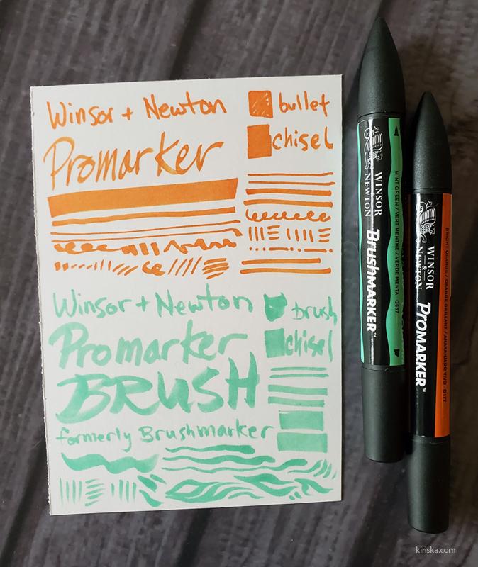 Winsor & Newton Promarker & Promarker Brush
