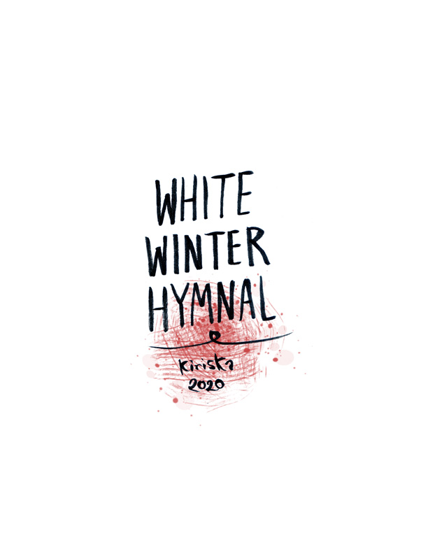 White Winter Hymnal cover