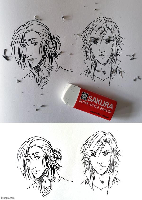 Drawing with Sakura Pigma Sensei