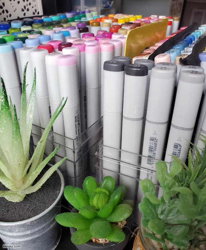 My Copic Sketch collection