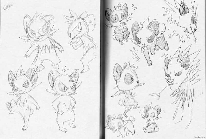 Pancham doodles